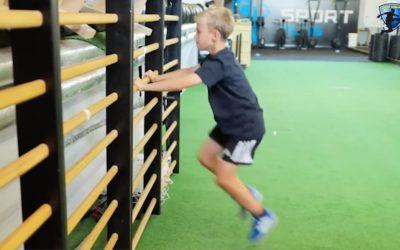 Sport Challenge – wall drill